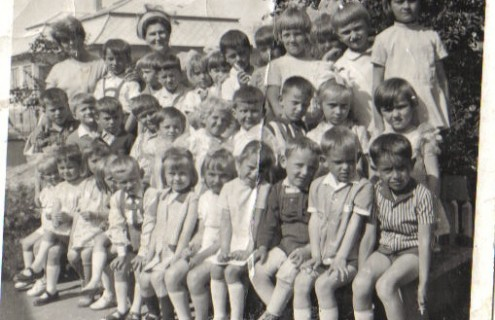 Óvodai csoportkép 1970-ből