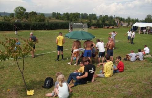 Kispályás focimérkőzés