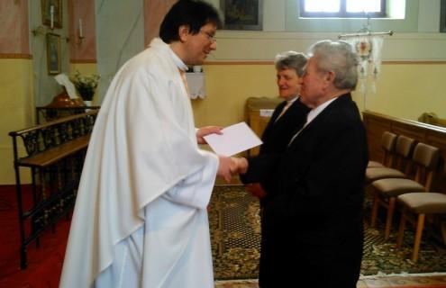 Czentnár József és Soós Mária 50. házassági évfordulója